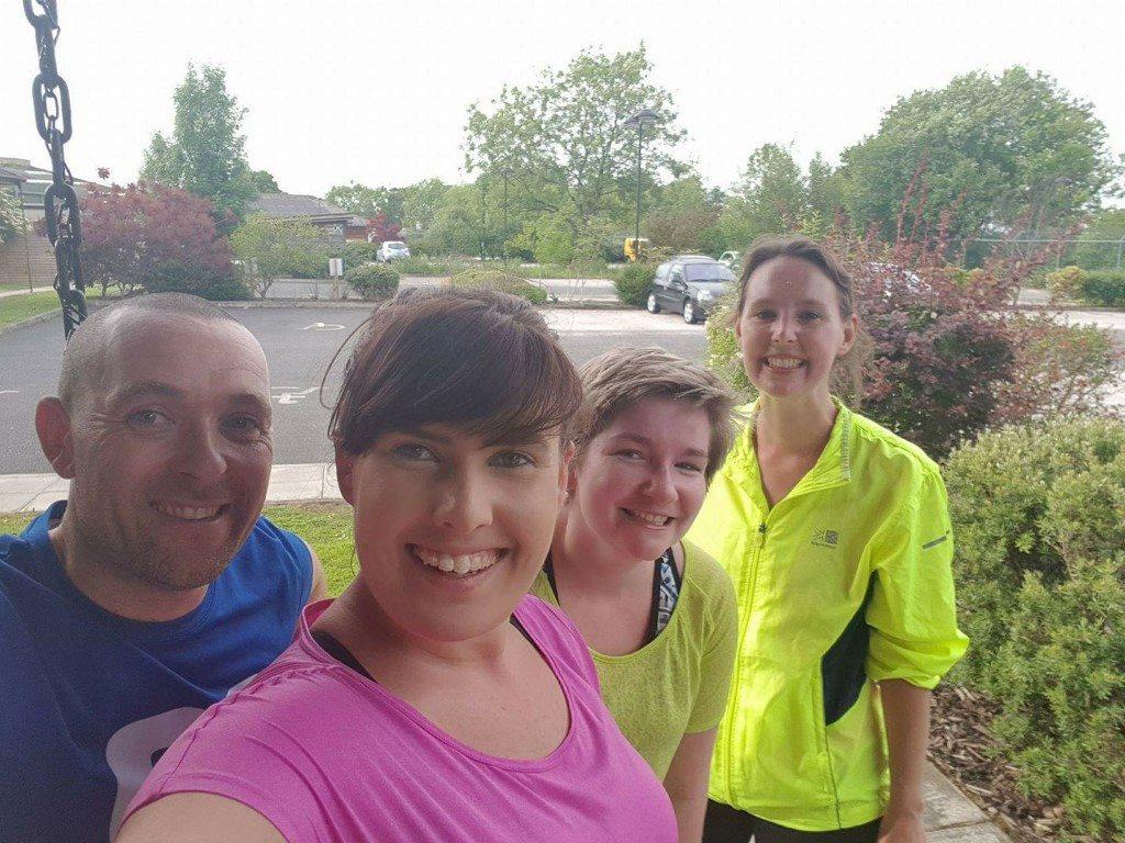 Challenge: 10.06.17 running club