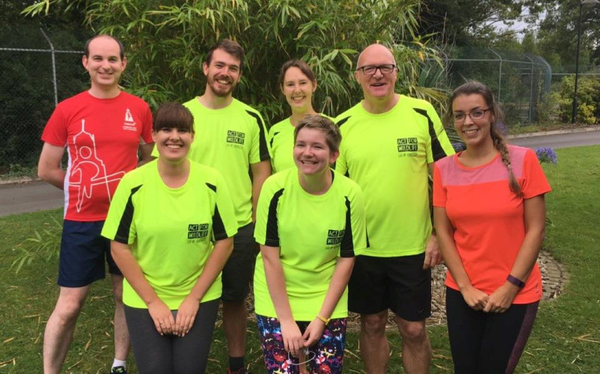 Challenge: 22.08.17 zoo staff running club with Dave Edwards