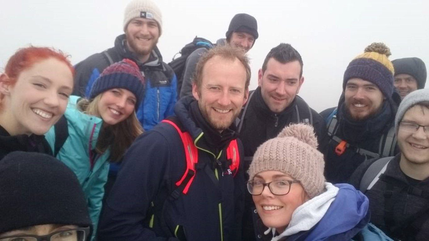 3 Peaks challenge Scafell Pike 10.04.17