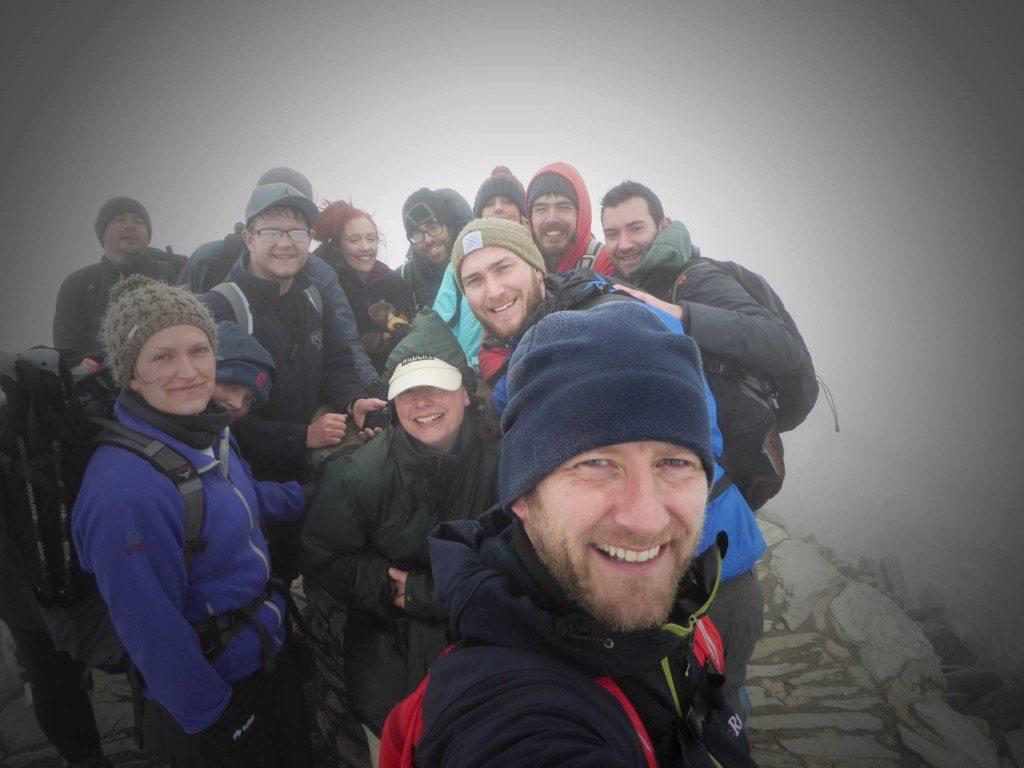 3 Peaks challenge Snowdon 03.04.17