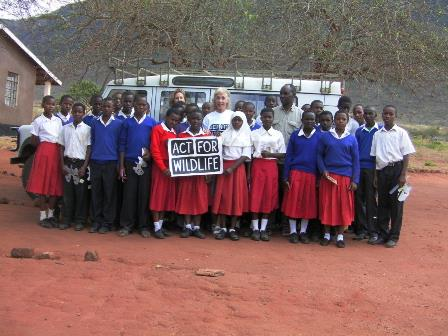 Maggie in Kenya