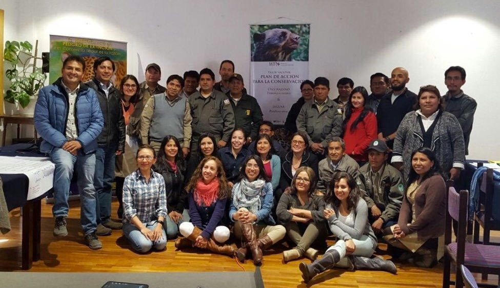 Andean bear Action Plan Group