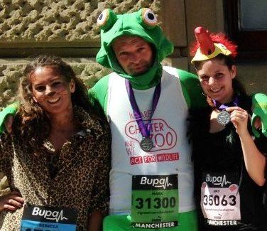 Challenge: 10K run zoo staff 2014