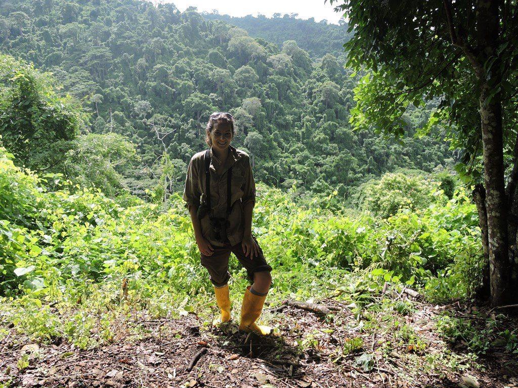 Rebecca Biddle in Ecuador