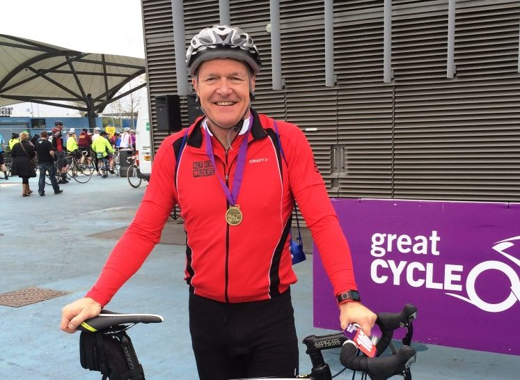 Dave Edwards Great Manchester Cycle 2015
