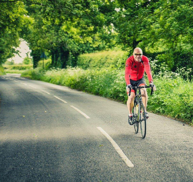 Dave Edwards training cycle 2015