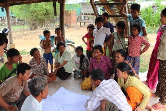 Focus group discussions in Cambodia