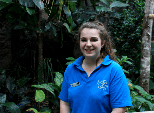 Jill did her one year research project on Sumatran laughingthrush