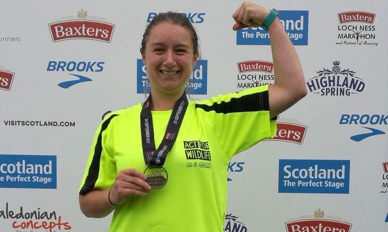 Challenge: Katie Morrison Loch Ness Marathon 24.09.17 Never Forget