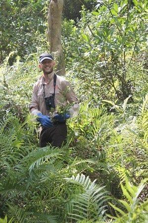 Mark Vercoe in the field in Madagascar