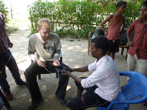 Richard Fraser in Assam