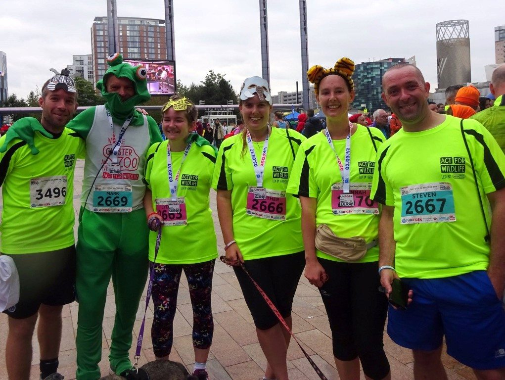 Challenge: Salford 10K 03.09.17 - Team at the finish
