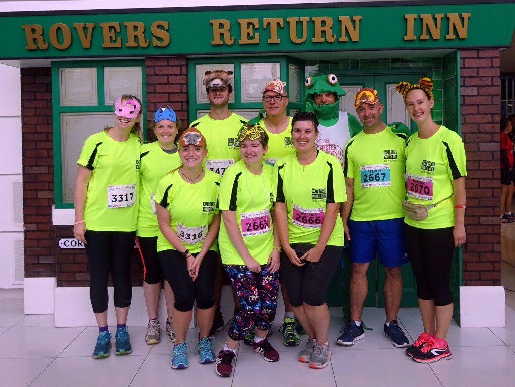Challenge: Salford 10K 03.09.17 - Team before the run