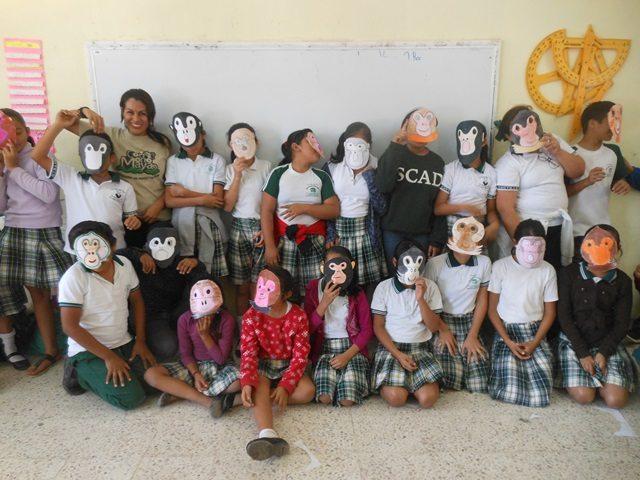 Spider monkey activities Credit ConMonoMaya