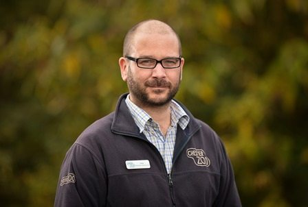 Andy Moss, Chester Zoo's conservation social scientist