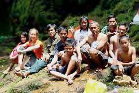 Field excursions for raising environmental awareness. Photo credit: Sumatran orangutan conservation project