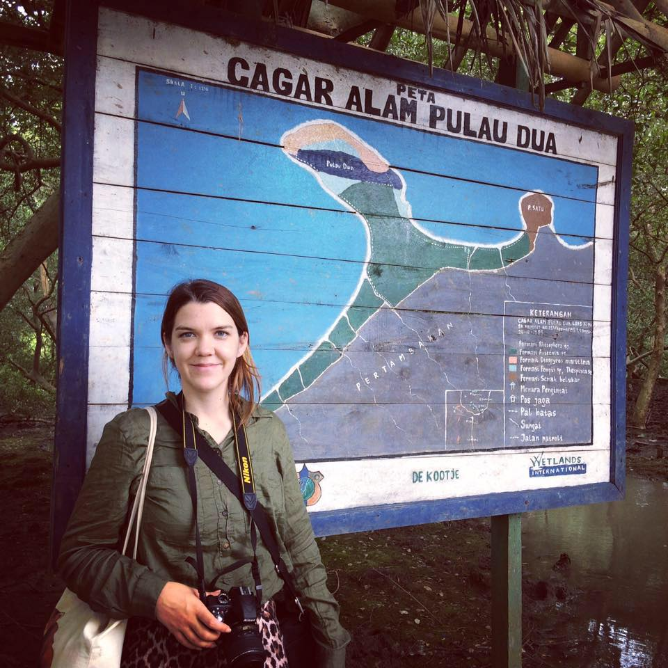 Chester Zoo corporate partnership coordinator, Rose Gelder