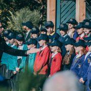School children take over performance | Chester Zoo