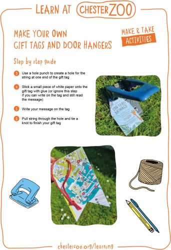 Image of the make your own gift tags resource, page 2